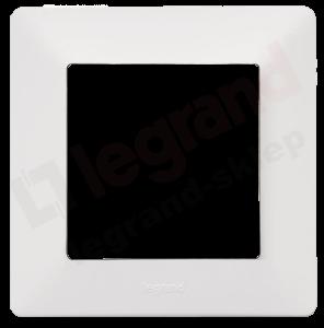 VALENA LIFE Ramka pojedyncza x1 biała (754001)