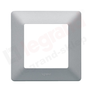 VALENA LIFE Ramka pojedyncza x1 aluminium (754131)